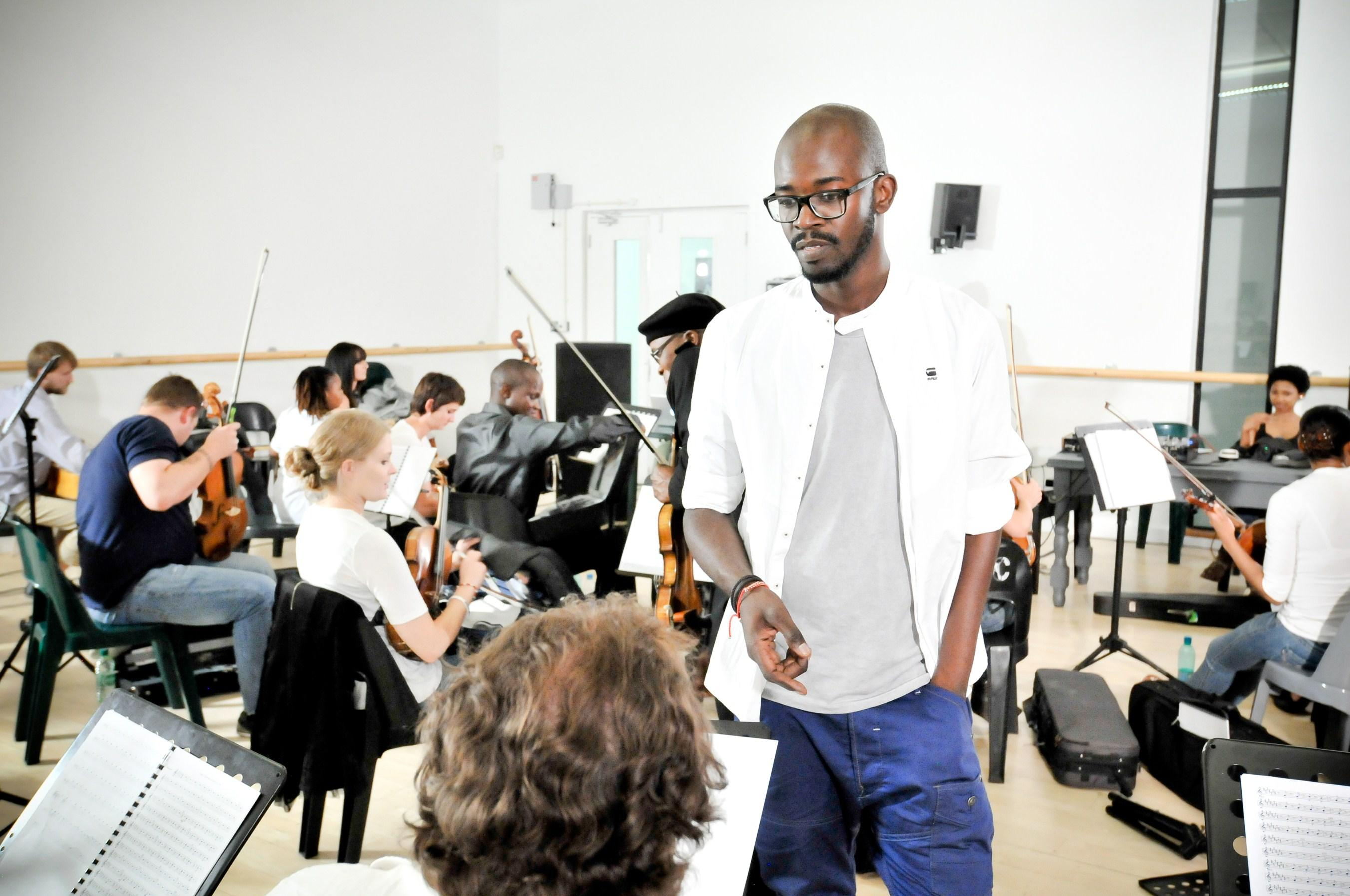 Black coffee hits get the orchestral treatment for Black coffee house music