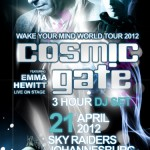 German Trance Duo, Cosmic Gate to tour SA with the Wake Your Mind World Tour!