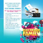 Win a VIP trip to the Electronic Family event!
