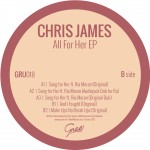 New Release: Chris James – All For Her EP