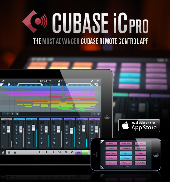 Cubase iC Pro for iPhone and iPad available now