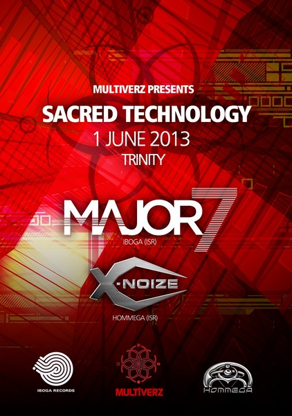 Major 7 & X-noiZe – Sacred Technology by Multiverz