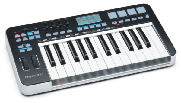 Gear & Industry News - Samson's new Graphite 25 USB Midi Controller