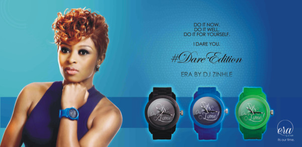 Music News - Zinhle Launches Watch Brand