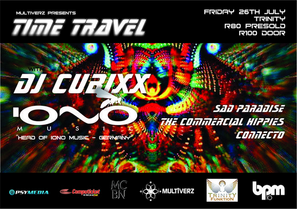 MULTIVERZ PRESENTS: Time Travel with DJ Cubixx