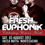 Fresh and Euphonik to celebrate Women's Month