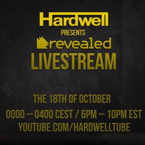 """Hardwell to live stream sold-out """"Hardwell Presents Revealed - ADE Edition"""""""