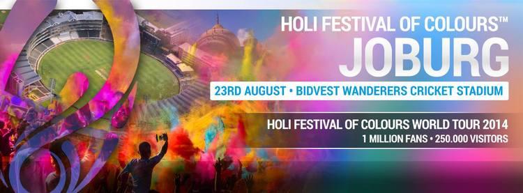 Holi Festival of Colours World Tour 2014