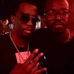 Black Coffee meets P Diddy after set in Ibiza
