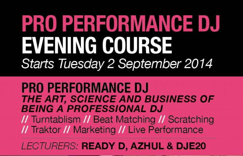 Free DJ course