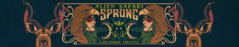 Win Tickets Alien Safari Sprung 2014