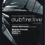 Dubfire debut live show to premiere at ADE