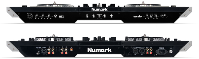 Numark ns7ii dj controller review available in sa for Dj controller motorized platters