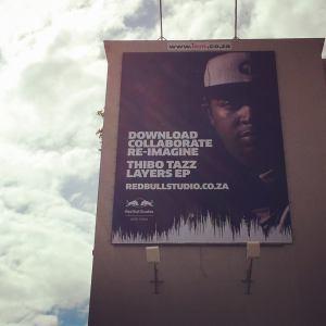 thibo tazz billboard cape town