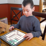 Madeon Pop Culture done by 5 year old on Launchpad S