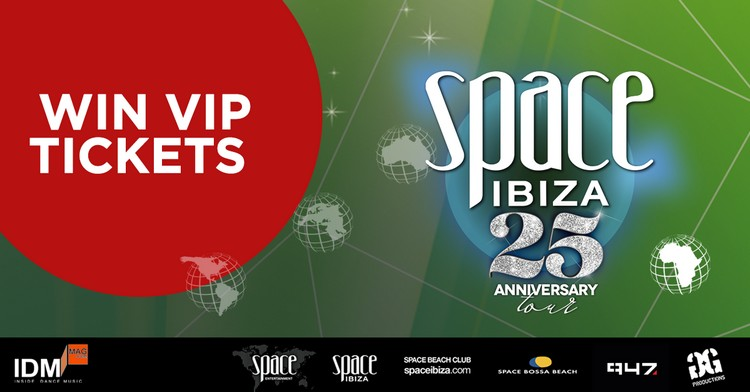 Win VIP Tickets Space Ibiza South Africa
