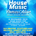 House Music Comes Alive at Some Rooftop Joburg