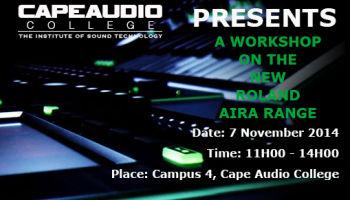 Roland Aira Workshop