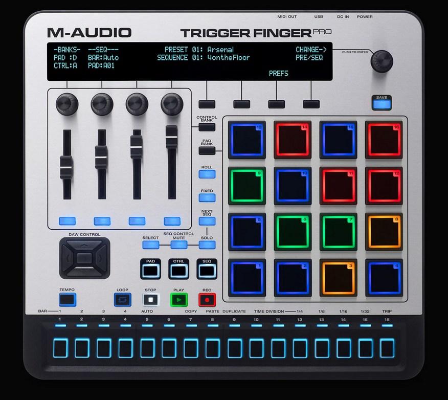 m audio trigger finger manual