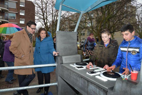 Public DJ booths in European parks
