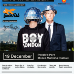 Pet Shop Boys SA Tour – Goldfish, Goodluck named support acts