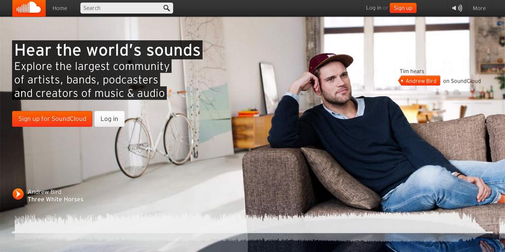 SoundCloud Warner