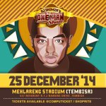 DJ Shimza 6th Annual One Man Show – 25 December 2014