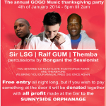 GOGO Music Annual Thanksgiving Event on 4 Jan 2015