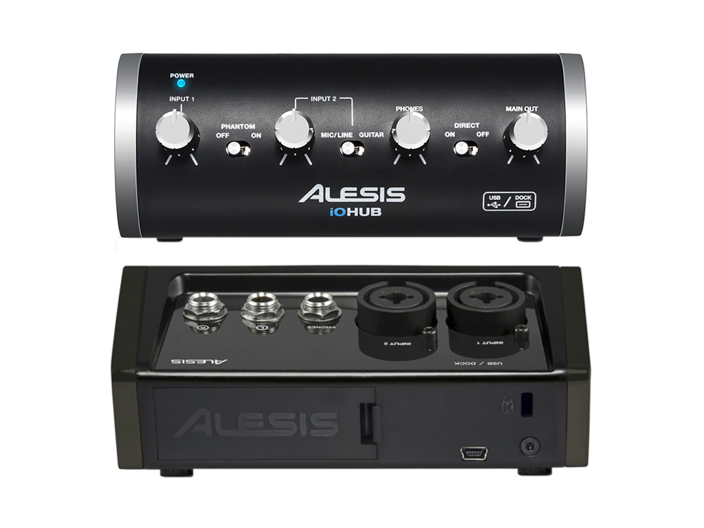 alesis io hub 2 channel usb audio interface available in sa. Black Bedroom Furniture Sets. Home Design Ideas
