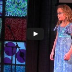 A Little Girl's Burning Man Experience at a Tedx talk