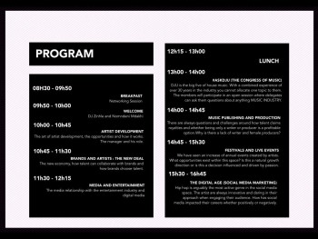 The Pink Conference Program for Fuse Academy