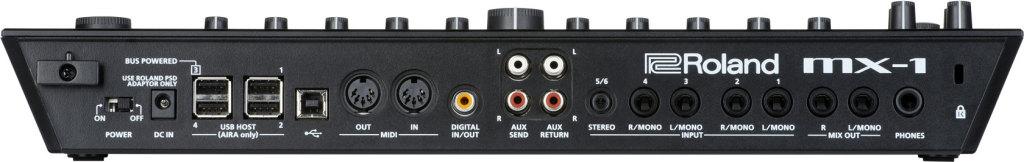 Roland aira MX-1 back