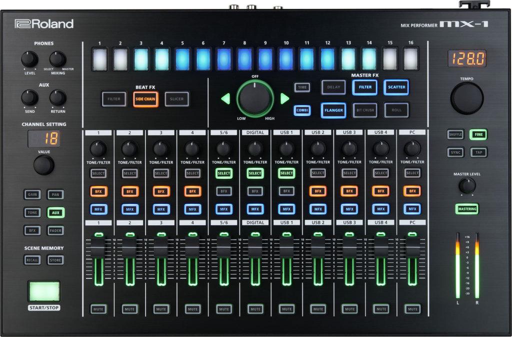 Roland aira MX-1 top