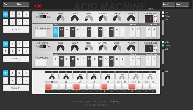 Acid Machine Beta