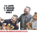 DRUMBEAT Concert Lineup Extended & New Venue Layout