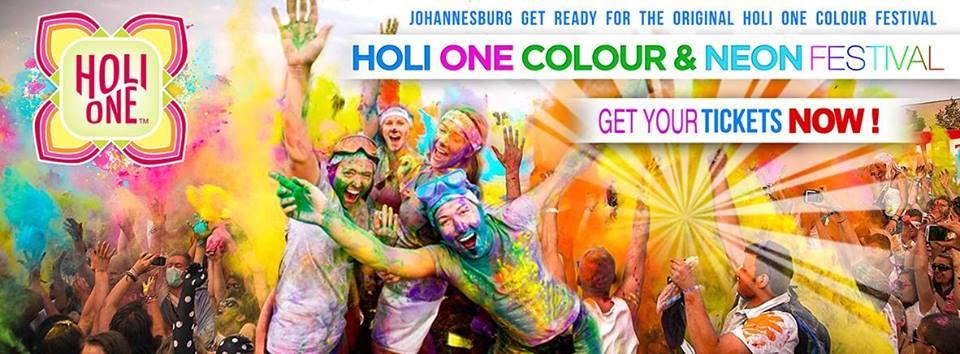 Holi One Colour Festival 2015