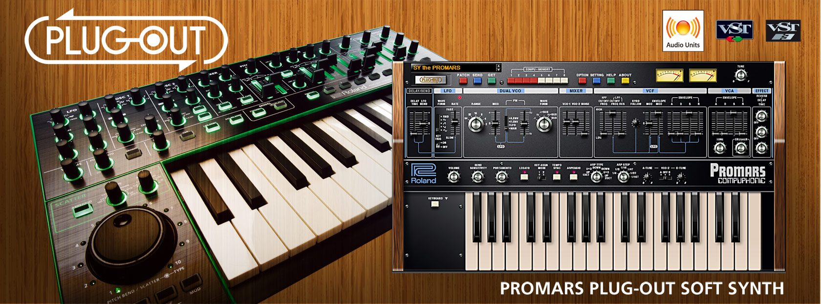 Promars Plug Out Softsynth From Roland Released