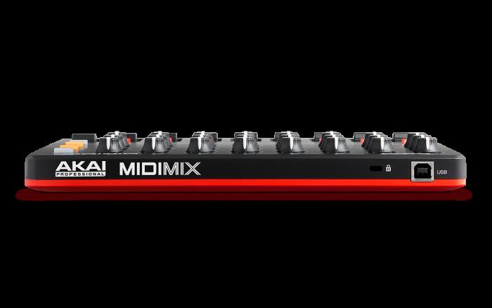 Akai Pro MIDImix back