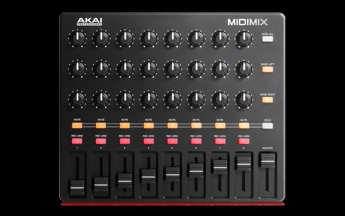 Akai Pro MIDImix top