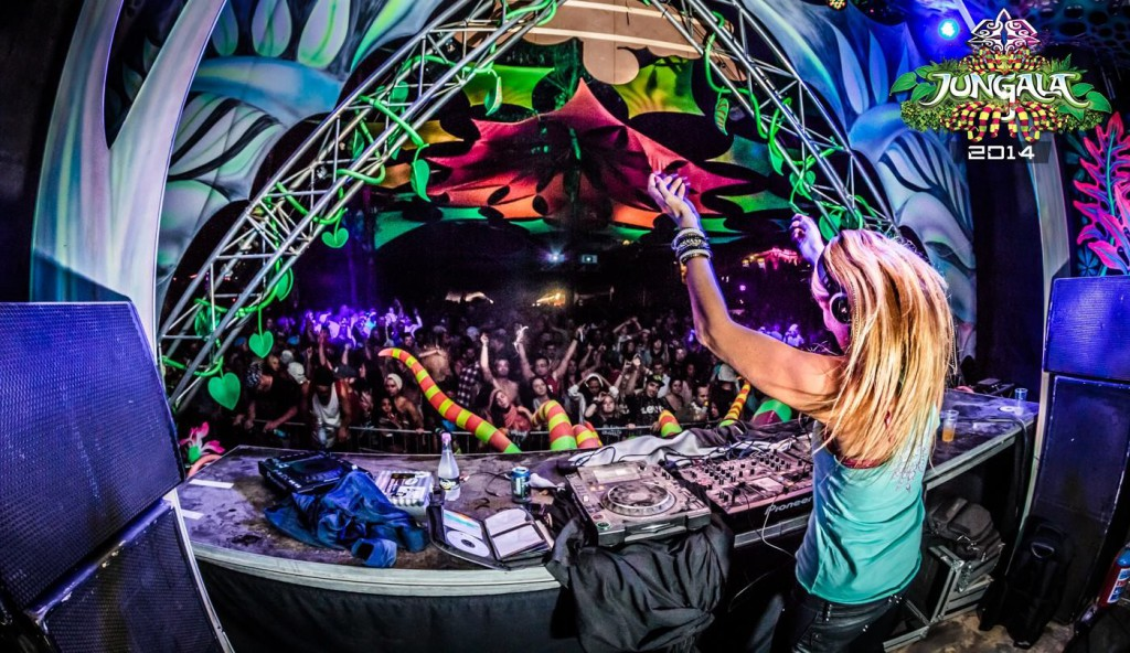 Tune Raider DJ Set at last year's Jungala
