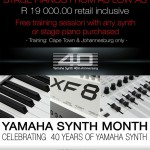 Celebrate Yamaha Synth Month during April 2015 with massive specials