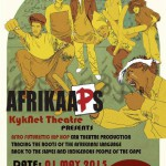 Afrikaaps Hip Hop Musical | Sponsor a child a ticket