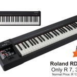 Roland RD-64 Digital Piano – Only R 7,395
