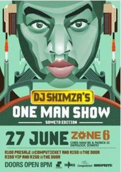Shimza One Man Show