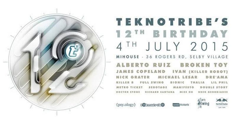Teknotribe 12th Birthday