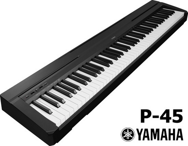 yamaha p45 digital piano arrives in south africa. Black Bedroom Furniture Sets. Home Design Ideas