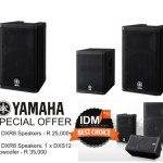 Yamaha DXR8 and DXS12 Special Offer