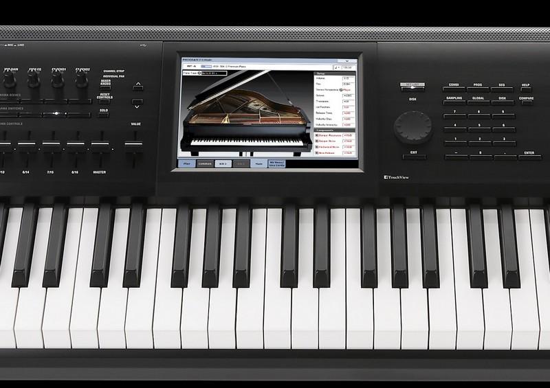 Korg Kronos 2 Music Workstation Re-loaded