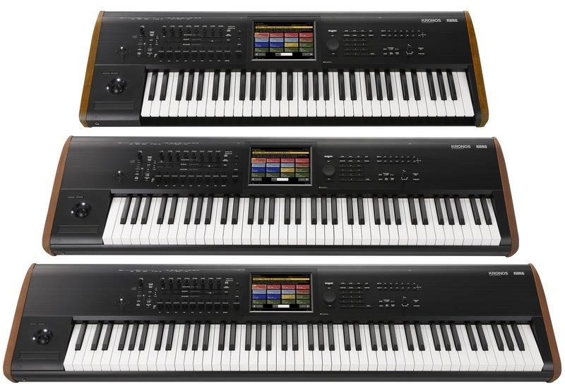 Korg Kronos 2 Music Workstation Re-loaded