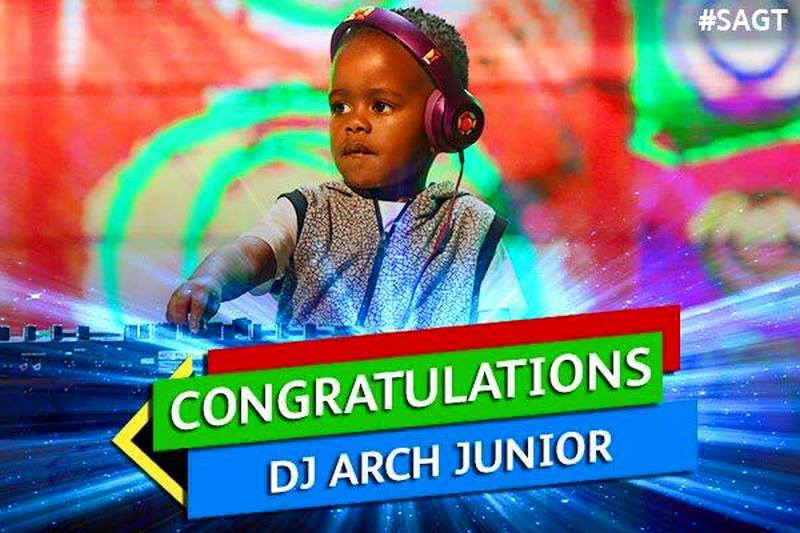 DJ Arch Jnr SA Got Talent